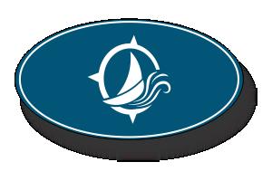 Marina Sailboat Icon-Blue - Thompson's Marina